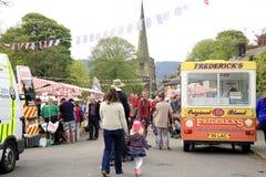 Dorfkarneval, Ashover, Derbyshire. Lizenzfreies Stockfoto