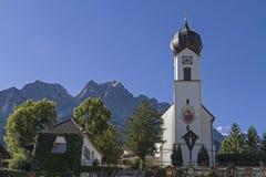 Dorfkirche in Grainau Royalty Free Stock Images