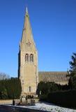 Dorfkirche in Leasingham Lizenzfreies Stockfoto