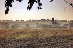 Dorfkirche zu Romschütz Stockfotos