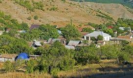 Dorfleben in Aserbaidschan Stockbild