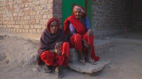 Dorfleben, ländliches Rajasthan, Indien Lizenzfreie Stockbilder