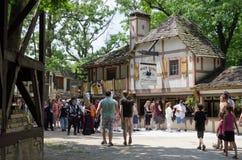 Dorfplatz Lizenzfreies Stockbild