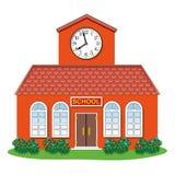 Dorfschulegebäude Lizenzfreie Stockbilder