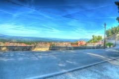 Dorgali road. Road by dorgali. hdr tone Royalty Free Stock Photos