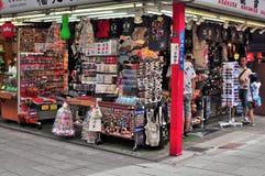 Dori de Nakamise, Sensoji, Asakusa, Tokyo, Japão Imagens de Stock