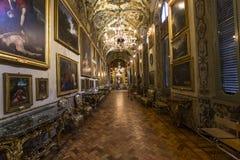 Doria Pamphilj Gallery Rome, Italien Arkivbilder