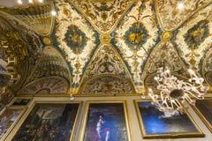 Doria Pamphilj Gallery Rome, Italien Arkivfoton