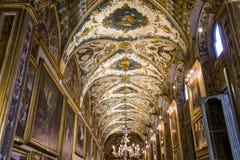 Doria Pamphilj Gallery Rome, Italien Royaltyfria Foton