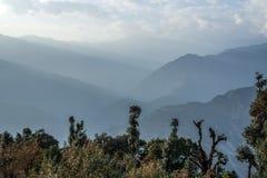 Doria Tal wędrówka Uttrakhand, ind - sari wioska - zdjęcia royalty free