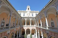 Doria Tursi pałac Zdjęcie Stock