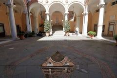 Doria Tursi pałac Zdjęcia Stock