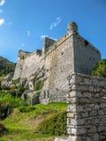 Doriakasteel Portovenere royalty-vrije stock fotografie