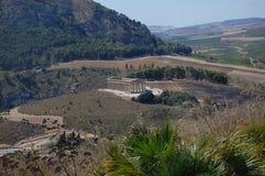 doric висок Сицилии segesta стоковые фотографии rf
