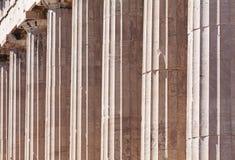 Doric Colonnade of the Parthenon Royalty Free Stock Photos