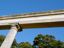 Doric Column and Beam Stock Photography