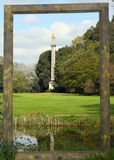 The Doric Column is situated within the grounds of Syon Gardens Royalty Free Stock Images