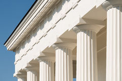 Doric Columns Of Ancient Temple Royalty Free Stock Photo