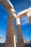 Doric Columns. Athens, Greece Stock Images
