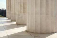 Doric Columns in Washington DC Royalty Free Stock Image