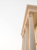 Doric columns Royalty Free Stock Photos