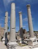 Doric marmurowe kolumny agora Zdjęcie Royalty Free
