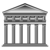 Doric temple Stock Photography