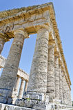 The Doric temple of Segesta Stock Image