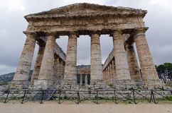 The Doric Temple of Segesta Royalty Free Stock Image
