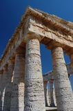 The Doric Temple at Segesta, Sicily Royalty Free Stock Photo