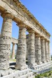 Doric Temple at Segesta, Sicily, Italy Stock Image