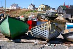 Dories di pesca Immagine Stock Libera da Diritti
