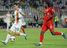 Dorin Rotariu in Dinamo Bucharest-Shaktar Donetk Royalty Free Stock Images