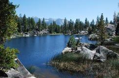 Doris Lake. A mountain lake in the Sierra Nevadas near Mono Hot Springs, California Stock Photography