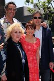 Doris Roberts, Brad Garrett, Patricia Heaton, Ray Romano at the Patricia Heaton Star On The Hollywood Walk Of Fame, Hollywood, CA  Royalty Free Stock Photography