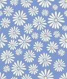 Doris Tagesblumen auf Lavendel-nahtloser Fliese Lizenzfreie Stockbilder