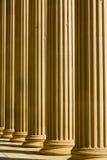 Dorische kolommen stock foto