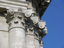 Dorische kolommen Stock Afbeeldingen
