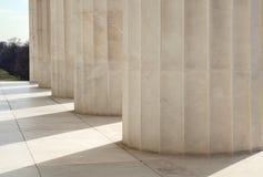 Doriska kolonner i Washington DC Royaltyfri Bild