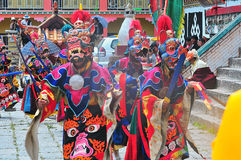 Dorje of Sakya Stock Image
