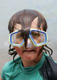 Dorky Diver 01 Royalty Free Stock Photos