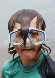 Dorky Taucher 01 Lizenzfreie Stockfotos