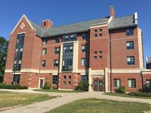 Dorm rooms at the University of Connecticut (UConn) in Storrs, Connecticut Stock Photo