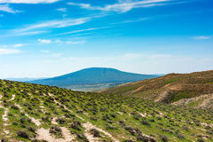 Dormant volcano Stock Image