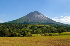 Dormant volcano Royalty Free Stock Photography