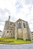 Dormelles - Church Stock Photo
