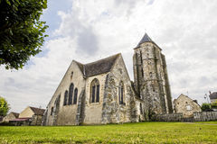 Dormelles - Church Royalty Free Stock Photos
