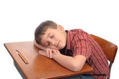 Dormendo nel codice categoria Immagini Stock