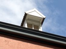 Dormer. With blue sky Royalty Free Stock Photography