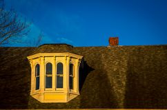 Dormer on a house. In nova scotia Canada Royalty Free Stock Photo